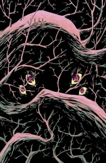 The Woods #1 (SDCC Cover)