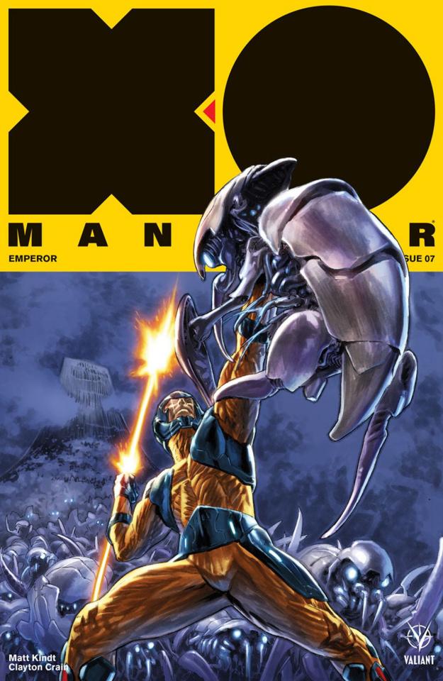 X-O Manowar #7 (Larosa Cover)