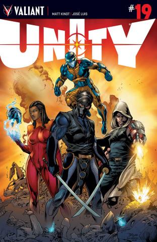 Unity #19 (Bernard Cover)