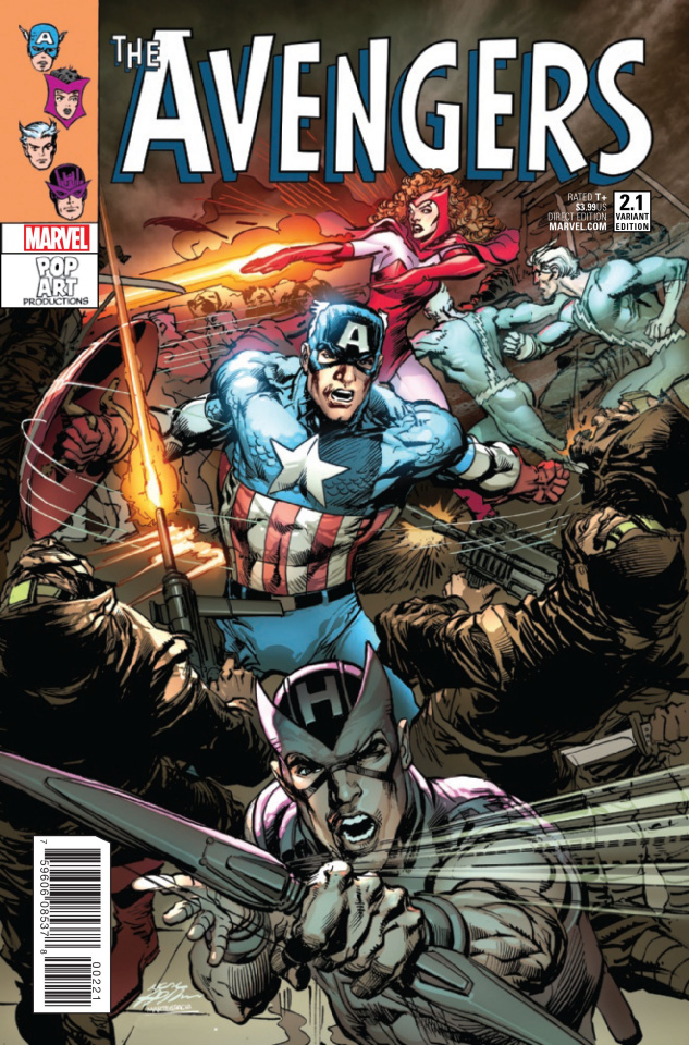 Avengers #2.1 (Adams Cover)