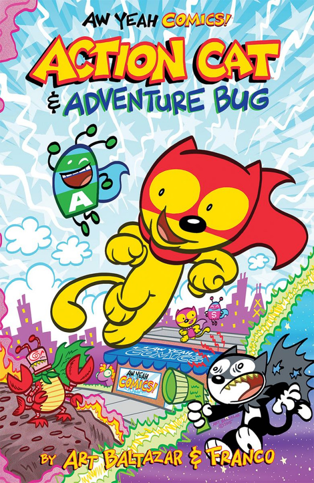 Aw Yeah Comics! Action Cat & Adventure Bug