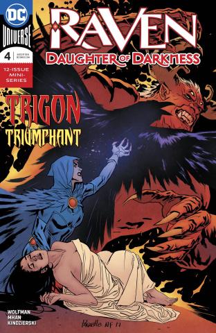 Raven: Daughter of Darkness #4
