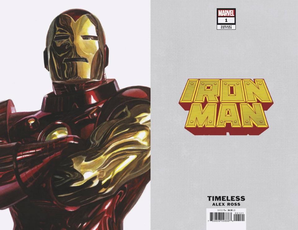 Iron Man #1 (Alex Ross Iron Man Timeless Cover)