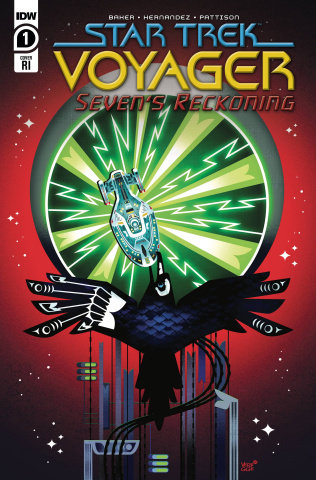 Star Trek: Voyager - Seven's Reckoning #1 (10 Copy Veregge Cover)
