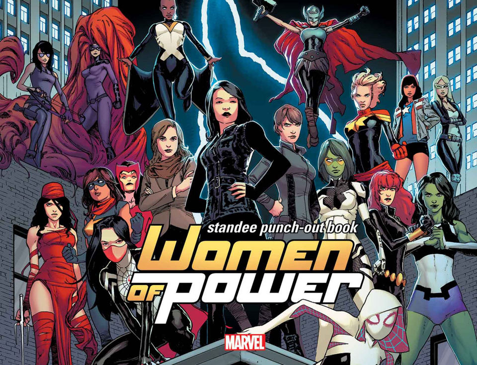 Women of Power: Standee Punch-Out Book