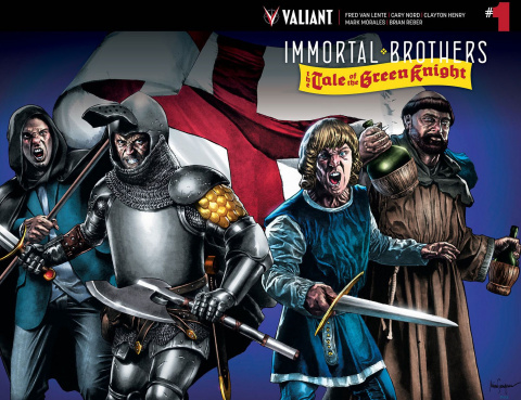 Immortal Brothers: The Tale of the Green Knight #1 (Suayan Wraparound Cover)