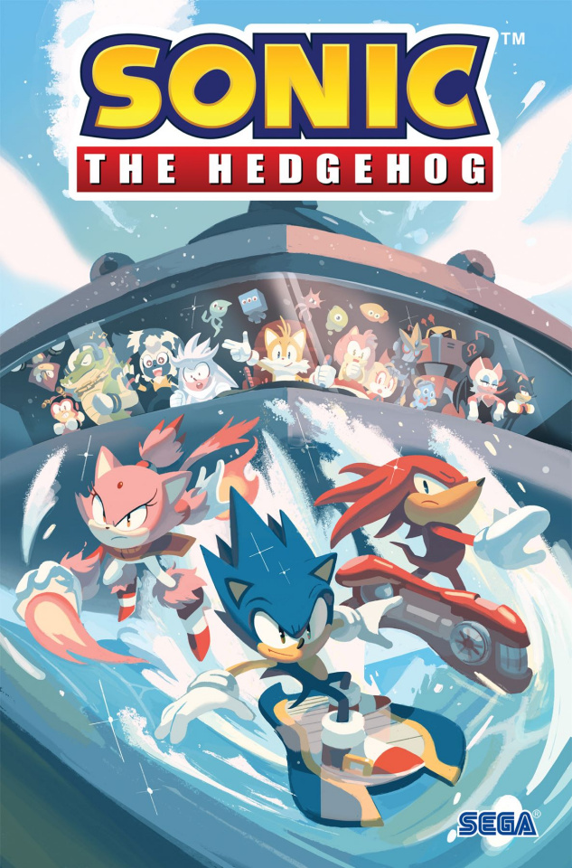 Sonic the Hedgehog Vol. 3: The Battle for Angel Island