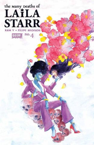 The Many Deaths of Laila Starr #4 (Kristantina Foil Cover)