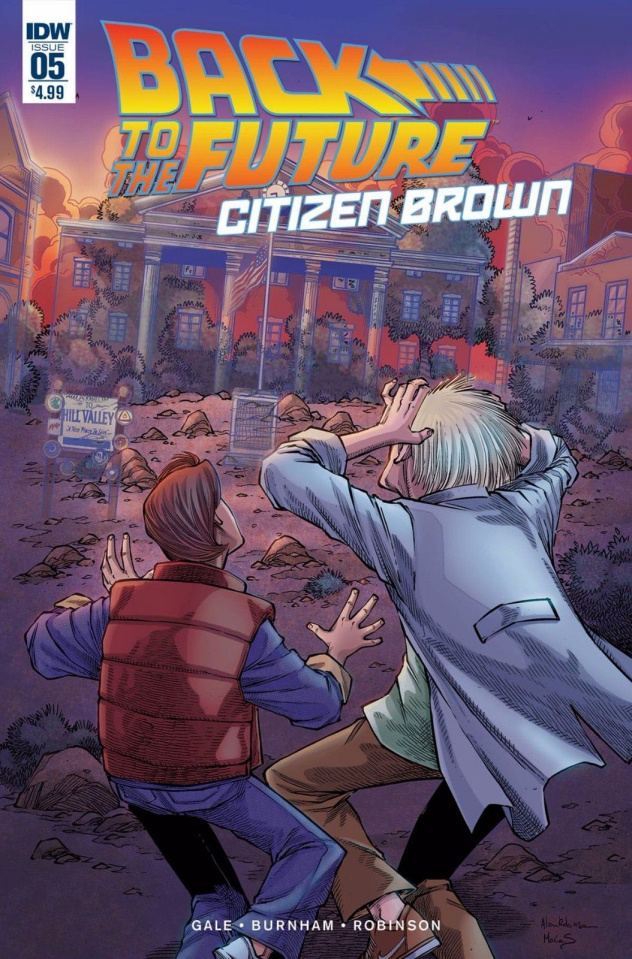 Back to the Future: Citizen Brown #5 (Subscription Cover)