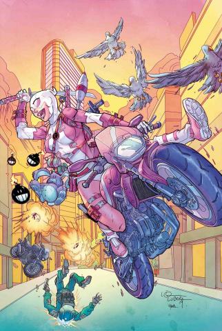 Gwenpool Strikes Back! #1 (Lubera Cover)