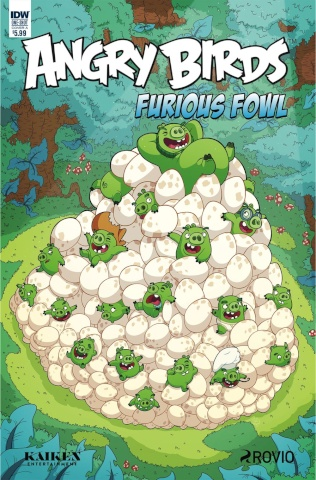Angry Birds: Furious Fowl (Murphy Cover)