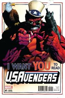 U.S.Avengers #1 (Stegman Cover)