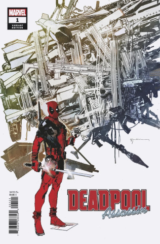Deadpool: Assassin #1 (Sienkiewicz Cover)