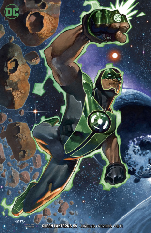 Green Lanterns #56 (Variant Cover)