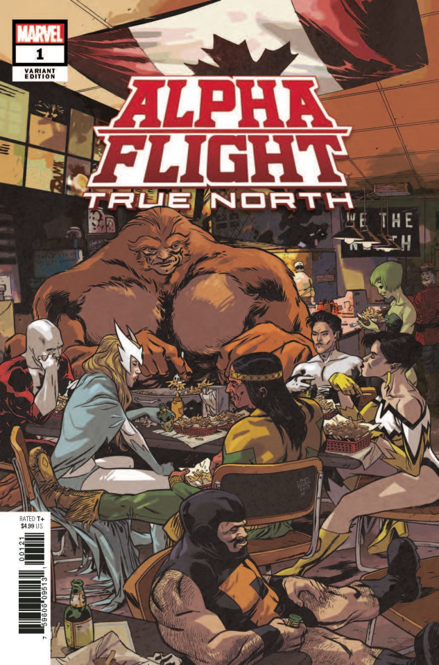 Alpha Flight: True North #1 (Perez Cover)