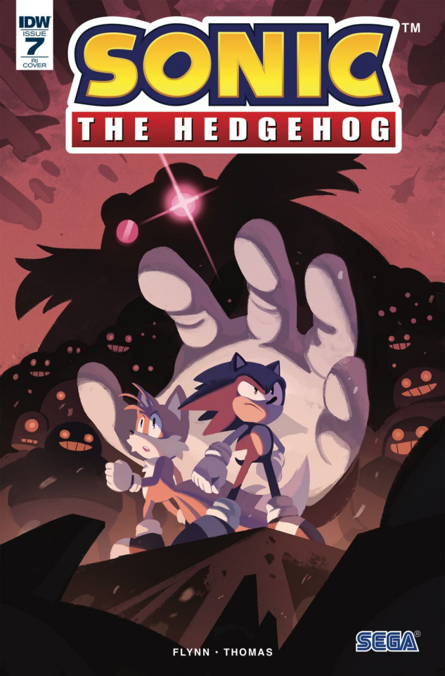 Sonic the Hedgehog #7 (10 Copy Foudraine Cover)