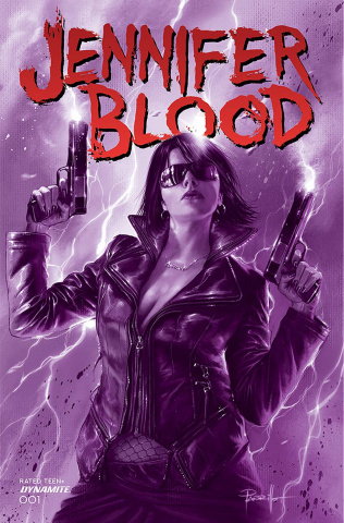 Jennifer Blood #1 (10 Copy Parrillo Tinted Cover)
