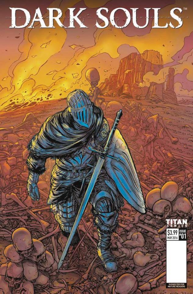 Dark Souls #1 (Cover D)