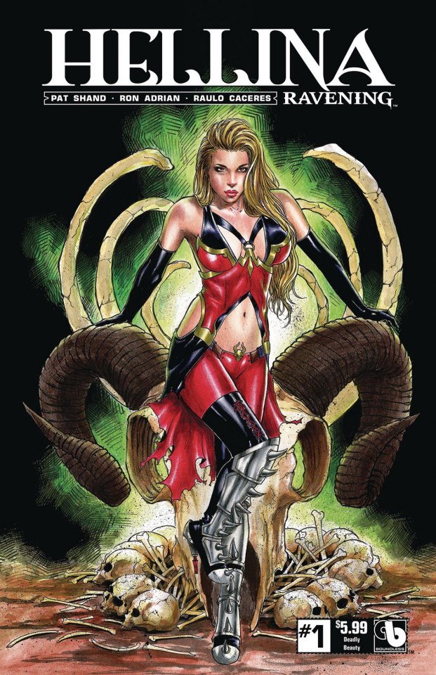 Hellina: Ravening #1 (Deadly Beauty Cover)
