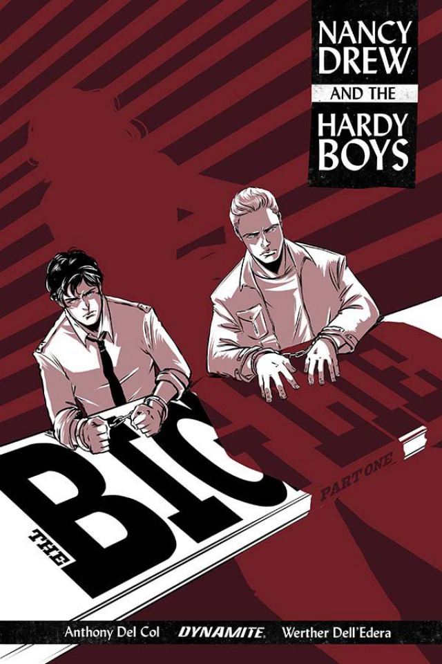 Nancy Drew and The Hardy Boys #1 (Vieceli Cover)
