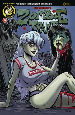Zombie Tramp #62 (Garcia Cover)
