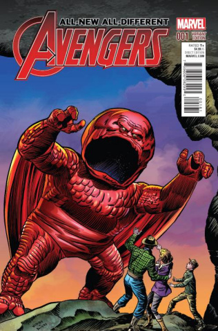 All-New All-Different Avengers #1 (Kirby Monster Cover)