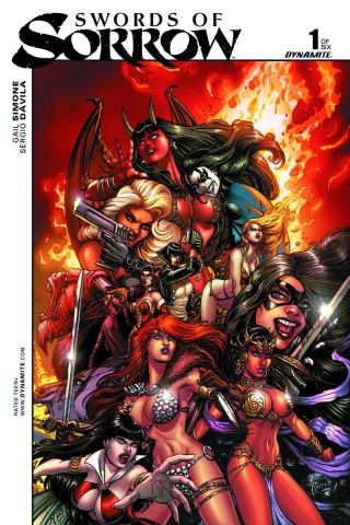 Swords of Sorrow #1 (5 Copy Chin Unique Art Cover)