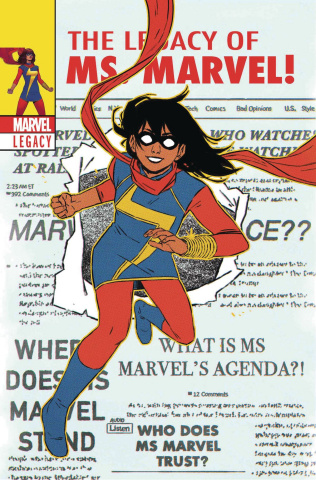 Ms. Marvel #25 (Wyatt Cover)
