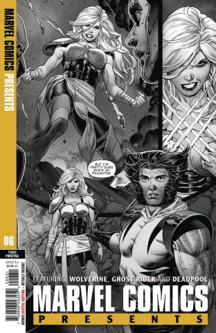 Marvel Comics Presents #6 (Siqueira 3rd Printing)