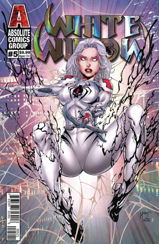 White Widow #5 (Mychaels Silver Holographic Foil Logo Cover)
