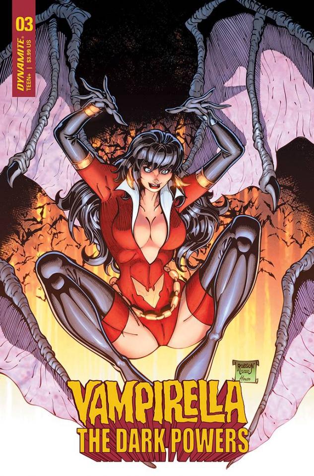 Vampirella: The Dark Powers #3 (Robson Cover)