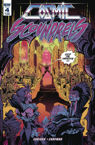 Cosmic Scoundrels #4