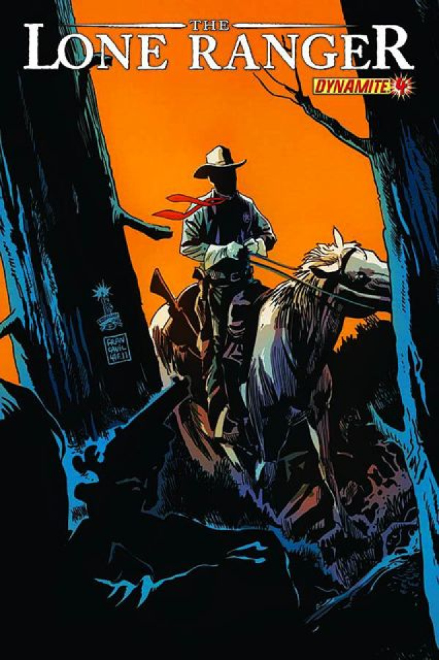 The Lone Ranger #4