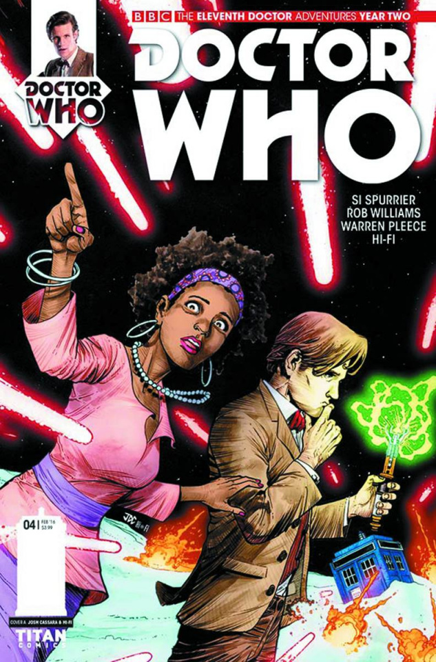 Doctor Who: New Adventures with the Eleventh Doctor, Year Two #4 (Cassara & Guerrero Cover)