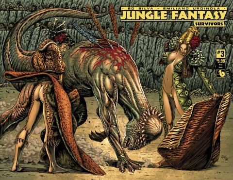 Jungle Fantasy: Survivors #3 (Wrap Cover)