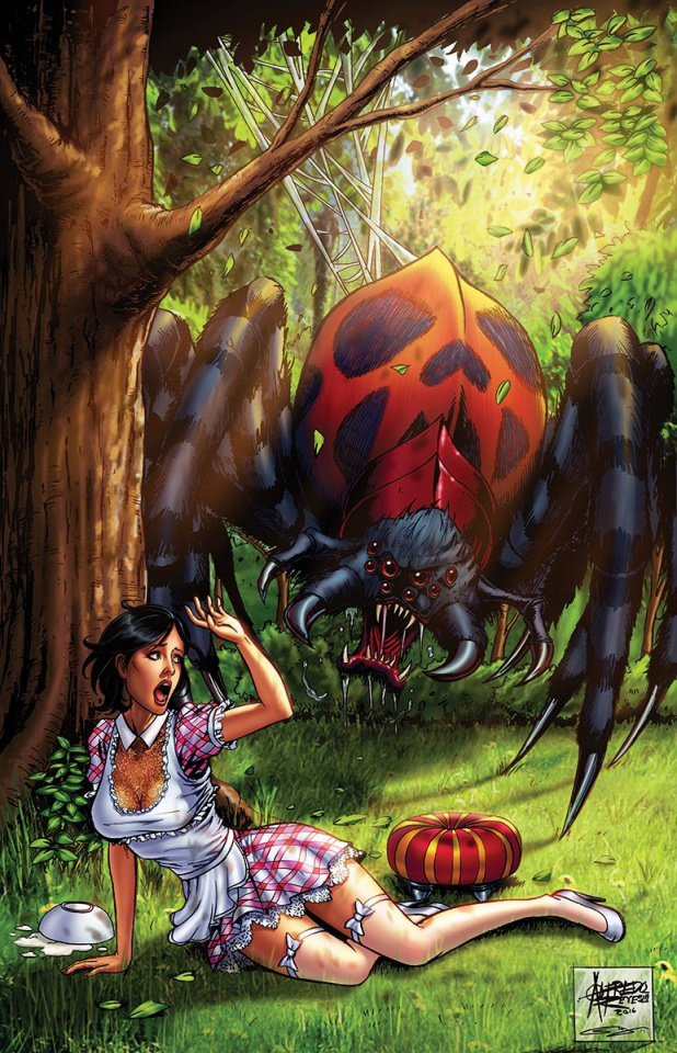 Grimm Fairy Tales Annual 2016 #1 (Reyes Cover)