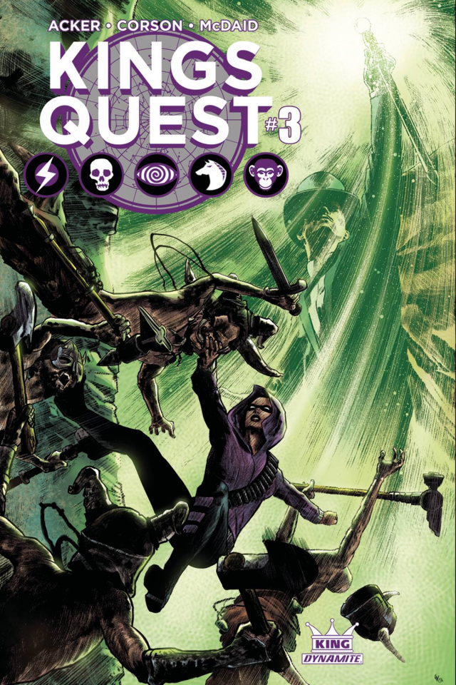 Kings Quest #3 (Worley Subscription Cover)