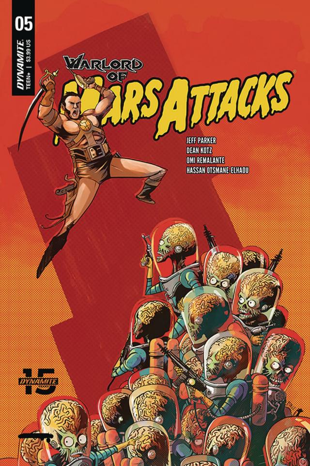 Warlord of Mars Attacks #5 (Piriz Cover)