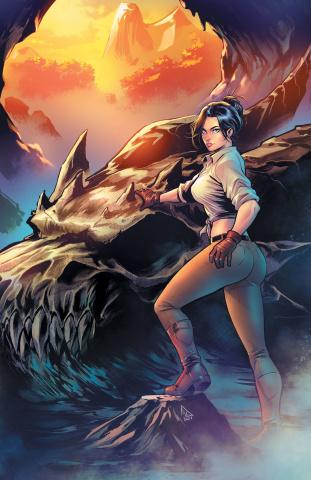 Myths & Legends Quarterly: The Dragon Clan (Zaldivar Cover)
