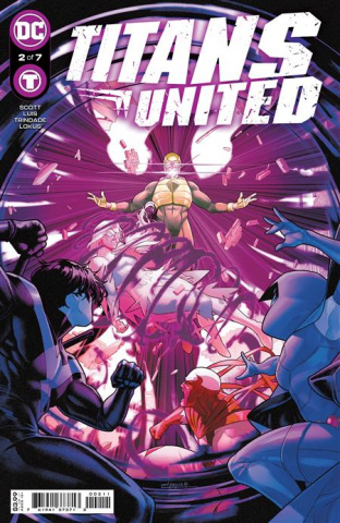 Titans United #2 (amal Campbell Cover)