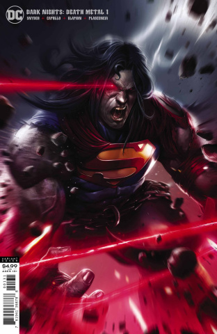 Dark Nights: Death Metal #1 (Mattina Superman Cover)