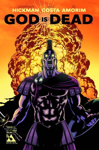 God Is Dead #1 (God of War Cover)
