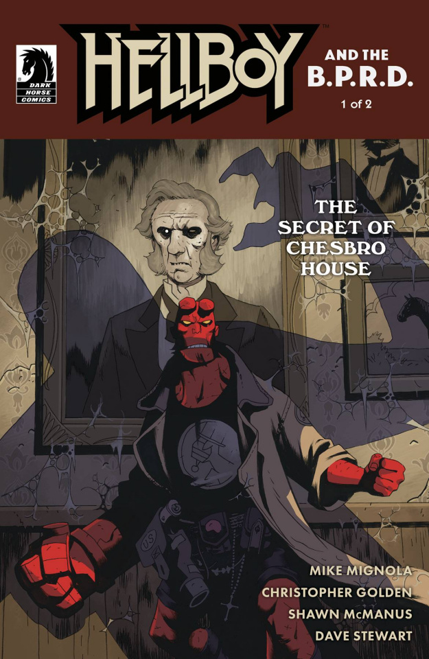 Hellboy and the B.P.R.D.: The Secret of Chesbro House #1 (Stenbeck Cover)