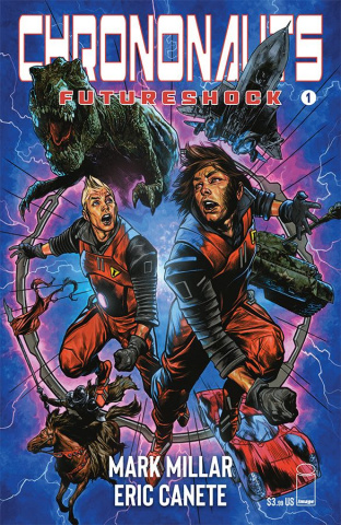 Chrononauts: Futureshock #1 (Charest Cover)