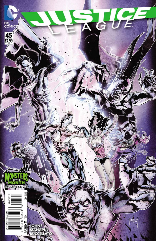 Justice League #45 (Monsters Cover)