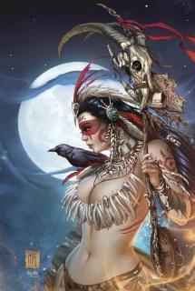Grimm Fairy Tales: Dark Shaman #1 (Krome Cover)