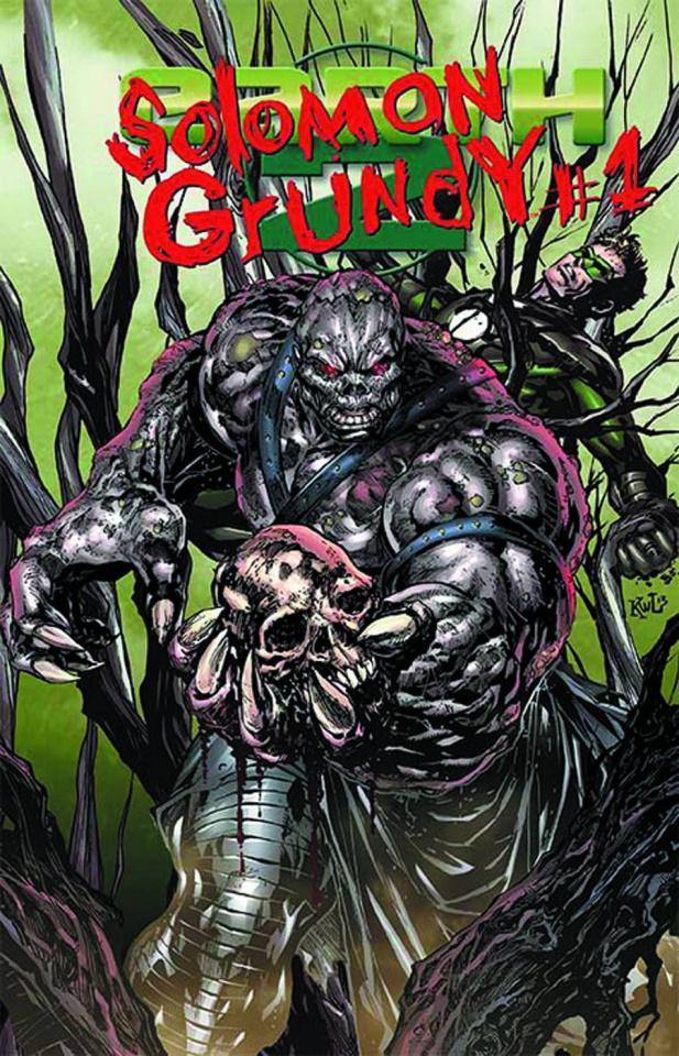 Earth 2 #15.2: Solomon Grundy Standard Cover