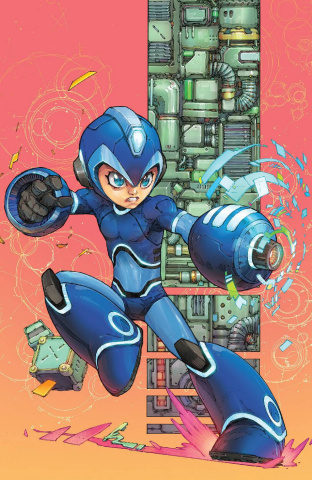 Mega Man: Fully Charged #2 (Rocafort Cover)