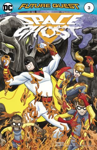 Future Quest Presents #3 (Variant Cover)