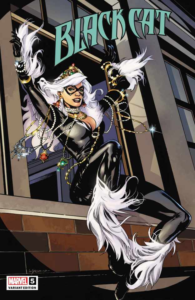 Black Cat #5 (Lupacchino Cover)